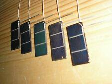 RARE NOS solar cell photoelectric detector receptor sollar battery panel 5pcs