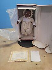 16� Vintage Effanbee Doll Co. 1988 Black Baby Doll Grumpy