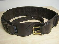 Anson & Deeley® 100% Real Leather Closed Loop Cartridge Belt-12 gauge