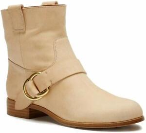FRYE Ricki Ring Strap Women's Beige Boot 8M NW/OB