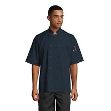South Beach Short Sleeve Chef Coat, All Colors, Sizes Xs to 3Xl, 0415