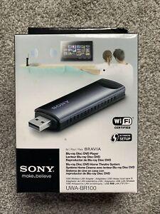 Genuine SONY UWA-BR100 Wireless LAN Adapter for BRAVIA TV Wi-Fi Ready USB Dongle