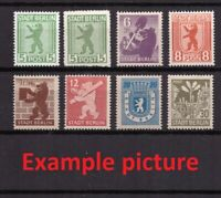 AM0481) GERMANY BERLIN / BRANDENBURG Allied Occupation Mi. 1-7 Full set MNH 1945