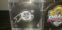 Autographed TRAVIS KONECNY Signed 2020 NHL All Star Game Puck Flyers