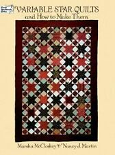 Variable Star Quilts and How to Make Them (Dover Quilting)