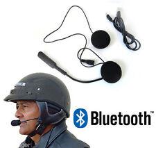 MICROFONO AURICOLARI BLUETOOTH IMPERMEABILE PER CASCO MOTO SCOOTER CHIAMATE MP3
