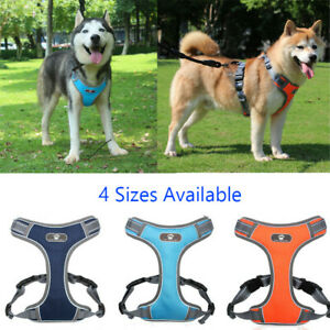 S To XL Pet Care Harness Vest Pet Chest Strap Walking Dog Puppy Cat Breathable