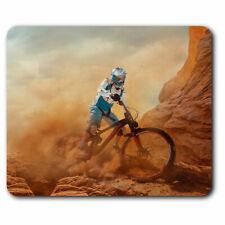 Computer Mouse Mat - Cool Dirt Bike Cycling Fun Office Gift #2754