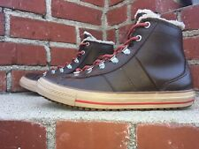 Converse CTAS Leather Upper Winter Faux Fur Lined Boot 632531c Jr Size 6 Wmn 9