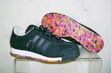 Women's ADIDAS SAMOA Sz 6 1/2 Black Fruity Pebbles Athletic Shoes 6.5 FAST SHIP!