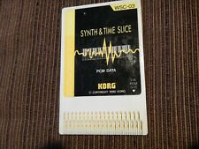 Korg Wavestation WSC-3 Synth&Time Slice ---WORLDWIDE SHIPPING---