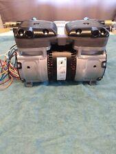 Gast Piston Air Compressor 12hp 57amp Made In Usa