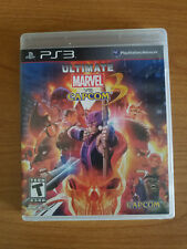 Ultimate Marvel vs. Capcom 3 (Sony PlayStation 3, 2011) Complete