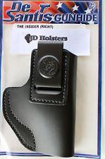 DeSantis Insider IWB Holster S&W M&P Shield 9/40/45  Black Leather Right Hand
