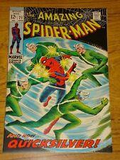 AMAZING SPIDERMAN #71 VF (8.0) QUICKSILVER APPS