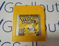 Pokemon Yellow Authentic Great Condition New Save Battery Free Shipping