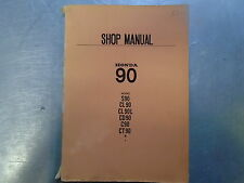 ORIGINAL 1971 EDITION 3 HONDA C90 CUB DEALER WORK SHOP MANUAL SERVICE MANUAL