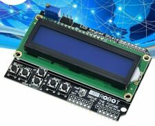 Keypad Shield Raspberry Uno Blue Screens Modules Display For Arduino LCD And New