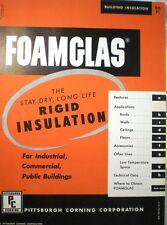 Pittsburgh Corning FOAMGLAS Insulation ASBESTOS Finish Emulsion Mastic Plaster