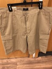 Dockers Khaki Cargo Shorts Size 34 Waist