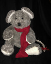 """Vintage (Rare) Heritage Collection/Ganz Morton Mouse W/Red Scarf 15""""Retired-"""