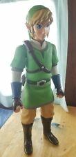 """Legend Of Zelda Skyward Sword 20"""" Link Action Figure/Jakks Pacific ~ Incomplete"""