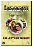 NEW! DAVID BOWIE LABYRINTH DVD R2 UK COLLECTOR'S EDITION 2004 LABIRINTH labrinth