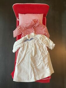 American Girl Molly's Bed Early 90s - Pajama Top & Robe Included