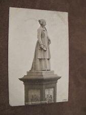 1905 fr West Midlands postcard - Sister Dora Statue - Walsall