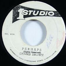 "Dennis Brown ""Perhaps"" Reggae 45 Studio One mp3"