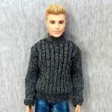 "Handmade doll gray Sweater clothes for 1/6 ken dolls 12"" dolls"
