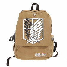 Attack on Titan Shingeki no Kyojin Backpack Scouting Legion Shoulder bag Cosplay