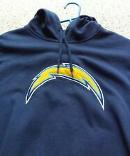 Los Angelos San Diego Chargers Lighning Bolt Hoodie AFC Football Hooded  NFL Lg