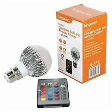 5W B22 E27 Colour Changing Bulb With Remote Control