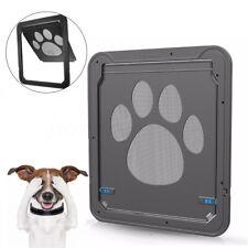 37x42cm Large Medium Dog Cat Pet Door Screen Window ABS Magnetic Auto Lock