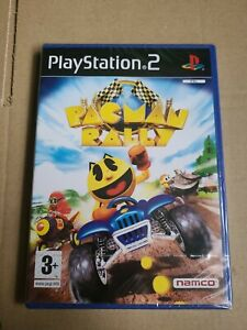 PS2 Pac-Man Rally (2007), UK Pal, Brand New Sony Factory Sealed