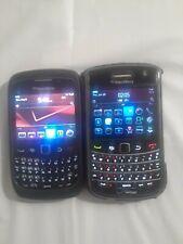 Lot Of 2 BlackBerry Curve (Verizon) & Bold Blackberry (Verizon) SmartPhones