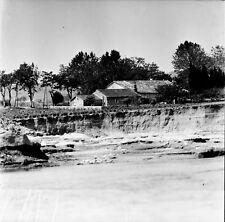 ST MARTIN D'ARDÈCHE c. 1938 -Maison et Vignes L'Ardèche- Négatif 6 x 6 - ARA 119