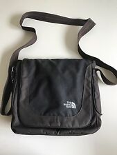 THE NORTH FACE Black And Brown Nylon Slim-Style Cross body Bag Purse