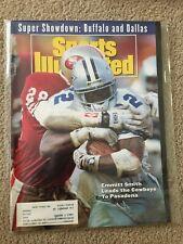 FM6-9 Sports Illustrated Magazine 1-25-1993 EMMITT SMITH COWBOYS