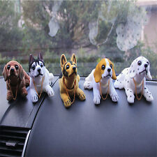 Bobble Head Dog Car Dashboard Home Decor Gift Doll Bobbing Nodding Nodder