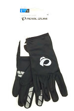 PEARL iZUMi Thermal Lite Cycling Gloves Pair Black Long Finger Gloves Medium