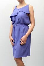 ABITO PINKO DONNA DRESS ROBE ПЛАТЬЕ SUKIENKA, CRUDELE BLU MIS.44  PP nv