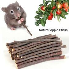 50g Natural Wood Chew Sticks Twigs Pets Rabbit Hamster Guinea Pig Toys B0X1