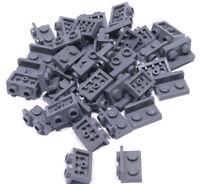 LEGO - 40 x Winkel Konverter invers dunkelgrau 1x2 auf 1x2 / 99780 NEUWARE (L02)
