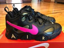 Nike Nike Air Barrage Low QS Super Bowl Black Pink Gold CT8454 001 Size 12