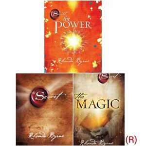 Rhonda Byrne 3 Books Collection  Set Pack Secret,Magic & The Power Hardcover NEW