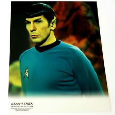 *LEONARD NIMOY* Spock STAR TREK TOS *Celebrating 40 Years* COLOR 8x10 PHOTOGRAPH