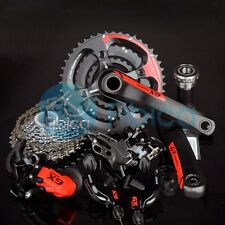 New SRAM X9 X.9 MTB Mountain Bike Groupset Group set 7pcs 10-speed Red