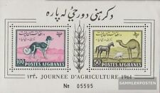 Afghanistan block 8a (complete.issue.) unmounted mint / never hinged 1961 Animal